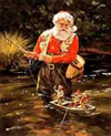 TOM BROWNING COLLECTION: SANTA CLAUS WITH LINE: 15 PACK