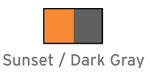 Sunset / Dark Gray