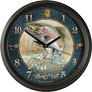 VINTAGE ADVERTISING LARGE WALL CLOCK: RIPPLIN' WATERS LODGE