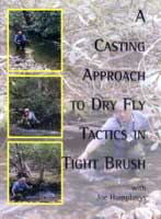 CASTING APPROACH TO DRY FLY TACTICS IN TIGHT BRUSH
