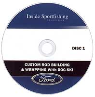 CUSTOM ROD BUILDING DVD