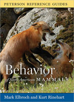 PETERSON REFERENCE GUIDE: BEHAVIOR OF NORTH AMERICAN MAMMALS