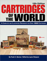 CARTRIDGES OF THE WORLD: A COMPLETE & ILLUSTRATED REFERENCE FOR OVER 1500 CARTRIDGES; 12TH ED.