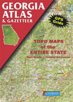 DELORME GEORGIA ATLAS AND GAZETTEER