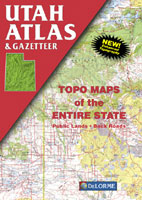 DELORME UTAH ATLAS AND GAZETTEER