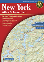DELORME NEW YORK STATE ATLAS AND GAZETTEER