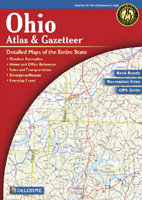 DELORME OHIO ATLAS AND GAZETTEER