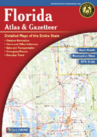 DELORME FLORIDA ATLAS AND GAZETTEER
