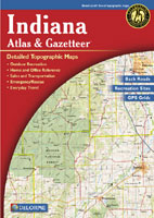 DELORME INDIANA ATLAS AND GAZETTEER