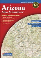 DELORME ARIZONA ATLAS AND GAZETTEER