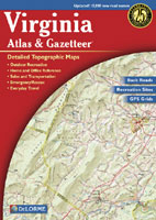 DELORME VIRGINIA ATLAS AND GAZETTEER