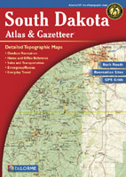 DELORME SOUTH DAKOTA ATLAS AND GAZETTEER