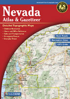 DELORME NEVADA ATLAS AND GAZETTEER