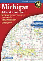 DELORME MICHIGAN ATLAS AND GAZETTEER