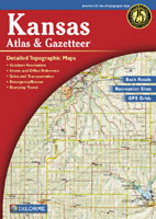 DELORME KANSAS ATLAS AND GAZETTEER