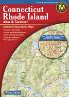 DELORME CONNECTICUT/ RHODE ISLAND ATLAS AND GAZETTEER