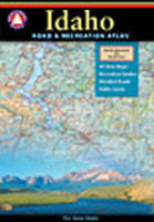 BENCHMARK IDAHO ROAD & RECREATION ATLAS REVISED ED