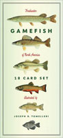 FRESHWATER GAMEFISH OF NORTH AMERICA EIGHTEEN CARD SET