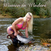 2014 WOMEN IN WADERS CALENDAR