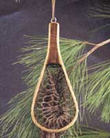 ORNAMENTS FOR THE ANGLER: 7 INCH MINI TROUT NET