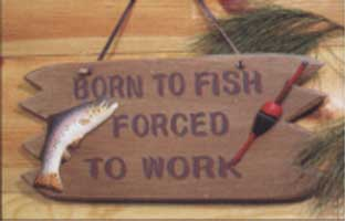 ADMA SIGNS: BORN TO FISH SIGN