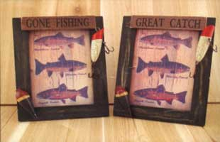 GREAT CATCH FISH FRAMES (4X6)
