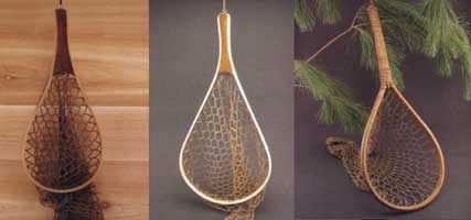 FISHING NET REPRODUCTIONS: BENTWOOD NET (24 INCHES)