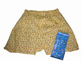 FUN BOXER SHORTS: NAME THAT TROUT (BLUE) - X-LARGE