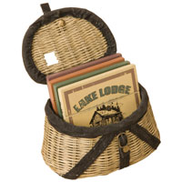 BIG SKY HOME ACCENTS: CREEL BASKET COASTER SET OF 4