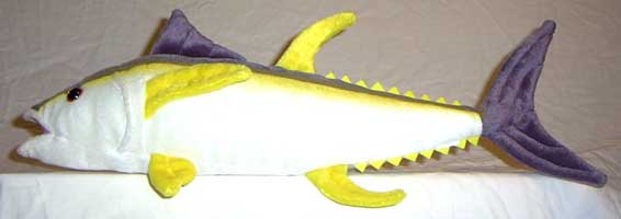 STUFFED FISH: 17 INCH YELLOWFIN TUNA