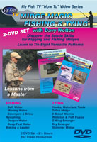 MIDGE MAGIC FISHING & TYING WITH DAVY WOTTON - 2DVD SET