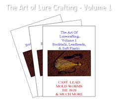 ART OF LURECRAFTING, VOLUME 1: BUCKTAILS