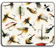 FISHSOXX MOUSE PAD: FLYS