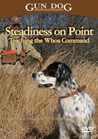 STEADINESS ON POINT: TEACHING THE WHOA COMMAND