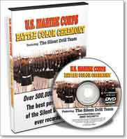 UNITED STATES MARINE CORPS BATTLE COLOR CEREMONY