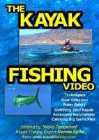 THE KAYAK FISHING DVD