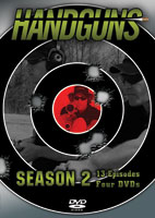 HANDGUNS SEASON 2 - 2010 TV SERIES (4DVD SET)