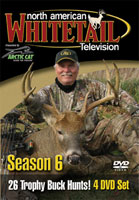 NORTH AMERICAN WHITETAIL 2009 SEASON TV SERIES (4 DVD SET)