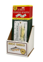 FISHERMAN'S ULTIMATE KNOT GUIDE COUNTER TOP DISPLAY (18 CARD PREPACK)