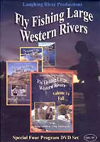 FLY FISHING LARGE WESTERN RIVERS: 1-4  SET