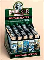 LIGHTERS: CAREY CHEN SALTWATER FISH ACTION SCENES 50 PACK