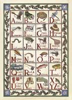 HOLIDAY GREETING CARDS: A FISHERMAN'S SAMPLER (16 pack)