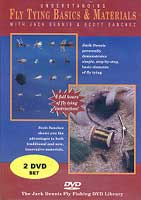FLY TYING BASICS AND UNDERSTANDING FLY MATERIALS DVD COMBO