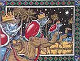 RAY TROLL HOLIDAY CARDS: - WE THREE KINGS