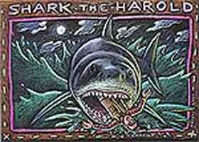RAY TROLL HOLIDAY CARDS: SHARK THE HAROLD (10  pack)