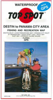 TOP SPOT MAPS: DESTIN TO PANAMA CITY AREA
