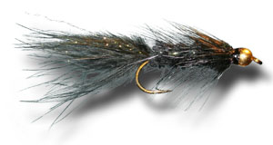 BH Woolly Bugger - Black