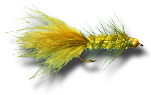 BH Woolly Bugger - Olive
