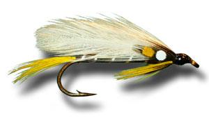 fly fishing flies black ghost