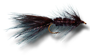 Woolly Bugger - Black